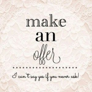💖 MAKE ME AN OFFER 💖